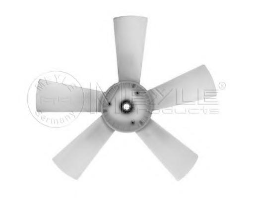 0140209010 MEYLE Крыльчатка вентилятора, охлаждение двигателя