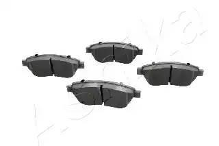 50000041 ASHIKA Комплект тормозных колодок, дисковый тормоз