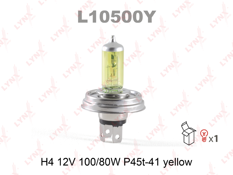 L10500Y LYNXAUTO Лампа галогенная