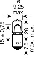 64132ULT OSRAM Лампа накаливания, фонарь указателя поворота