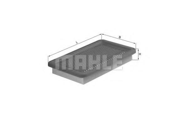 LX542 MAHLE Воздушный фильтр