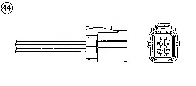 93850 NGK Лямбда-зонд