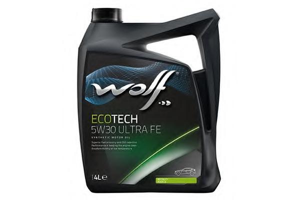 Масло моторное синтетическое WOLF 5W30 ULTRA FE, 4л WOLF 8311697