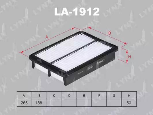 LA1912 LYNX Фильтр воздушный
