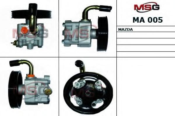 MA005 MSG Насос ГУР MAZDA 323 F VI 98-04,323 S VI 98-04,626 V 97-02,626 V Hatchback 97-02 MSG MA005