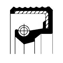 12015779B CORTECO Сальник подшипника ступицы