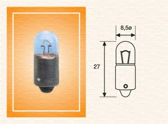 Лампа накаливания, задний гарабитный огонь MAGNETI MARELLI 002894100000