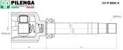 CVP8501K PILENGA ШРУС внутренний правый шлицы - 41х29 BOXER III, DUCATO III, JUMPER III CV-P8501K