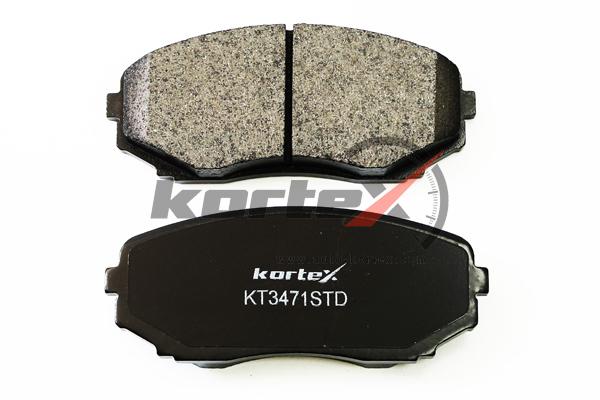 KT3471STD KORTEX Колодки торм. MAZDA CX-7/CX-9 07- передние