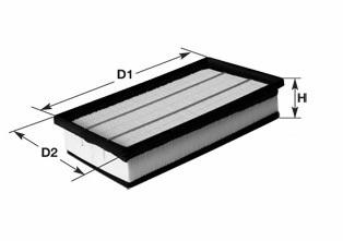 Воздушный фильтр CLEAN FILTERS MA1413