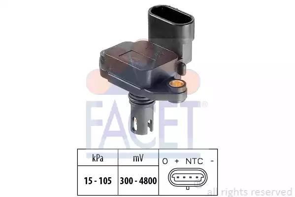 103088 FACET Датчик давления воздуха, высотный корректор