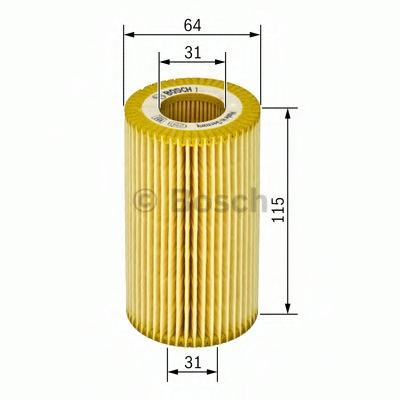 1457429157 BOSCH Масляный фильтр