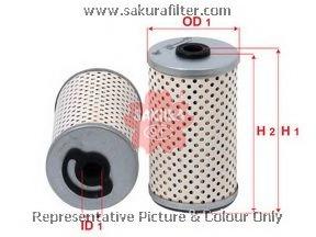 F2601 SAKURA Фильтр топливный элемент