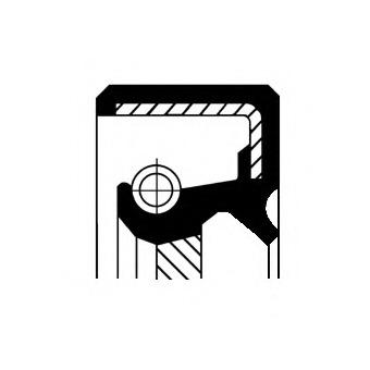 19035133B CORTECO Уплотняющее кольцо, дифференциал