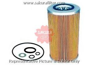 O1503 SAKURA Фильтр масляный элемент