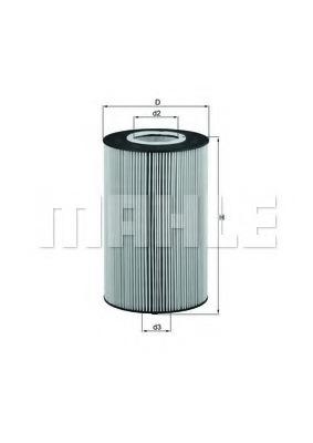 OX425D KNECHT Масляный фильтр