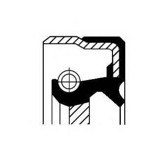 01033752B CORTECO Сальник хвостовика заднего редуктора
