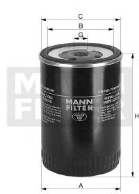 Топливный фильтр MANN-FILTER WK9503