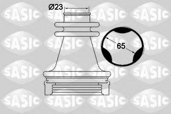 1904035 SASIC Комплект пылника, приводной вал