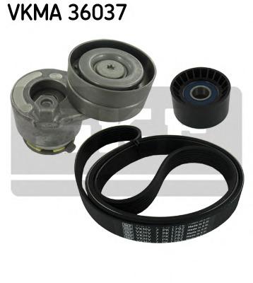 Поликлиновой ременный комплект SKF VKMA36037