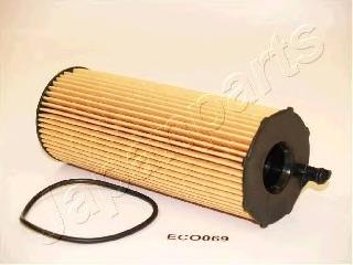 Фильтр масляный двигателя JAPANPARTS FOECO069