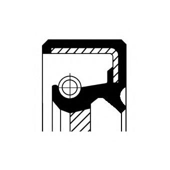 15018287B CORTECO Уплотняющее кольцо, распределительный вал