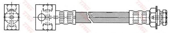 PHA389 TRW Тормозной шланг