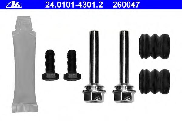 24010143012 ATE комплект принадлежностей, тормозной суппорт