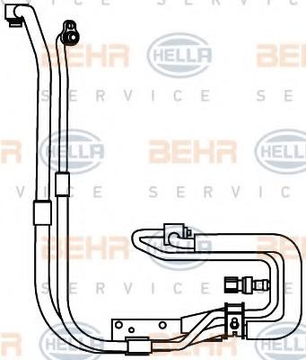 9GS351337651 HELLA Трубопровод высокого давления, кондиционер