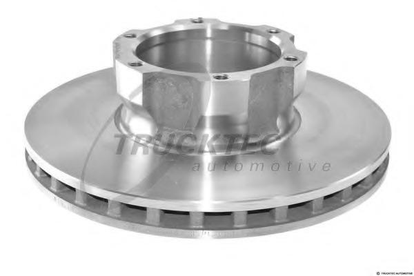 0235055 TRUCKTEC Тормозной диск