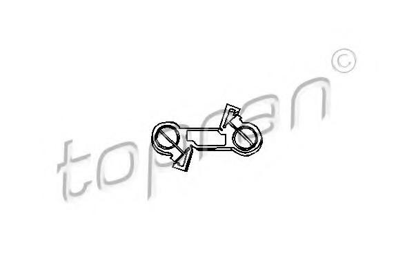 103078 TOPRAN Шток вилки переключения передач