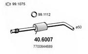 406007 ASSO Резон.с гофрой RENAULT MEGANE 1