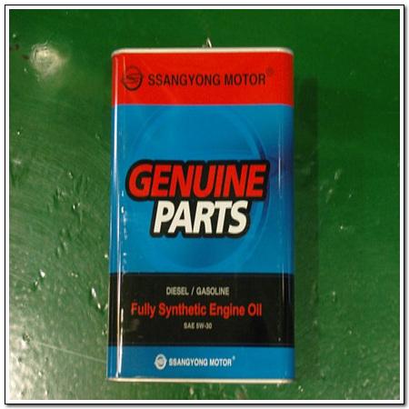 Масло моторное синтетика 5W-30 4 л. SSANG YONG 0000000658
