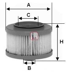 S6013NE SOFIMA Топливный фильтр