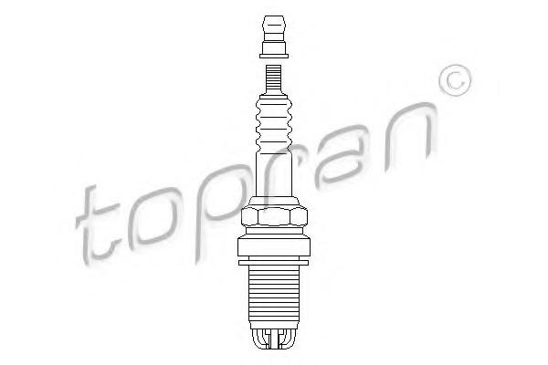 108955 TOPRAN Свеча зажигания
