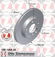 150126920 ZIMMERMANN Тормозная система