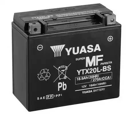 YTX20LBS YUASA Батарея аккумуляторная 18А/ч 170А 12В обратная поляр. болтовые мото клеммы