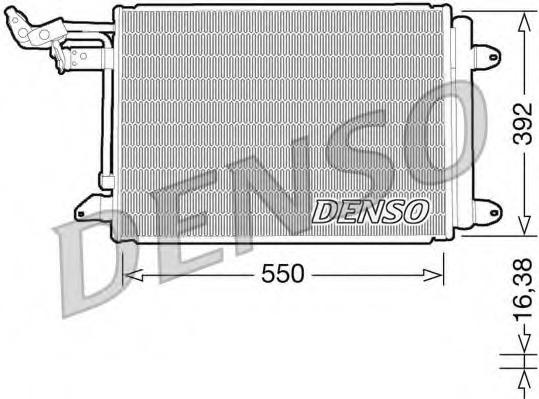 DCN32002 DENSO Конденсатор, кондиционер