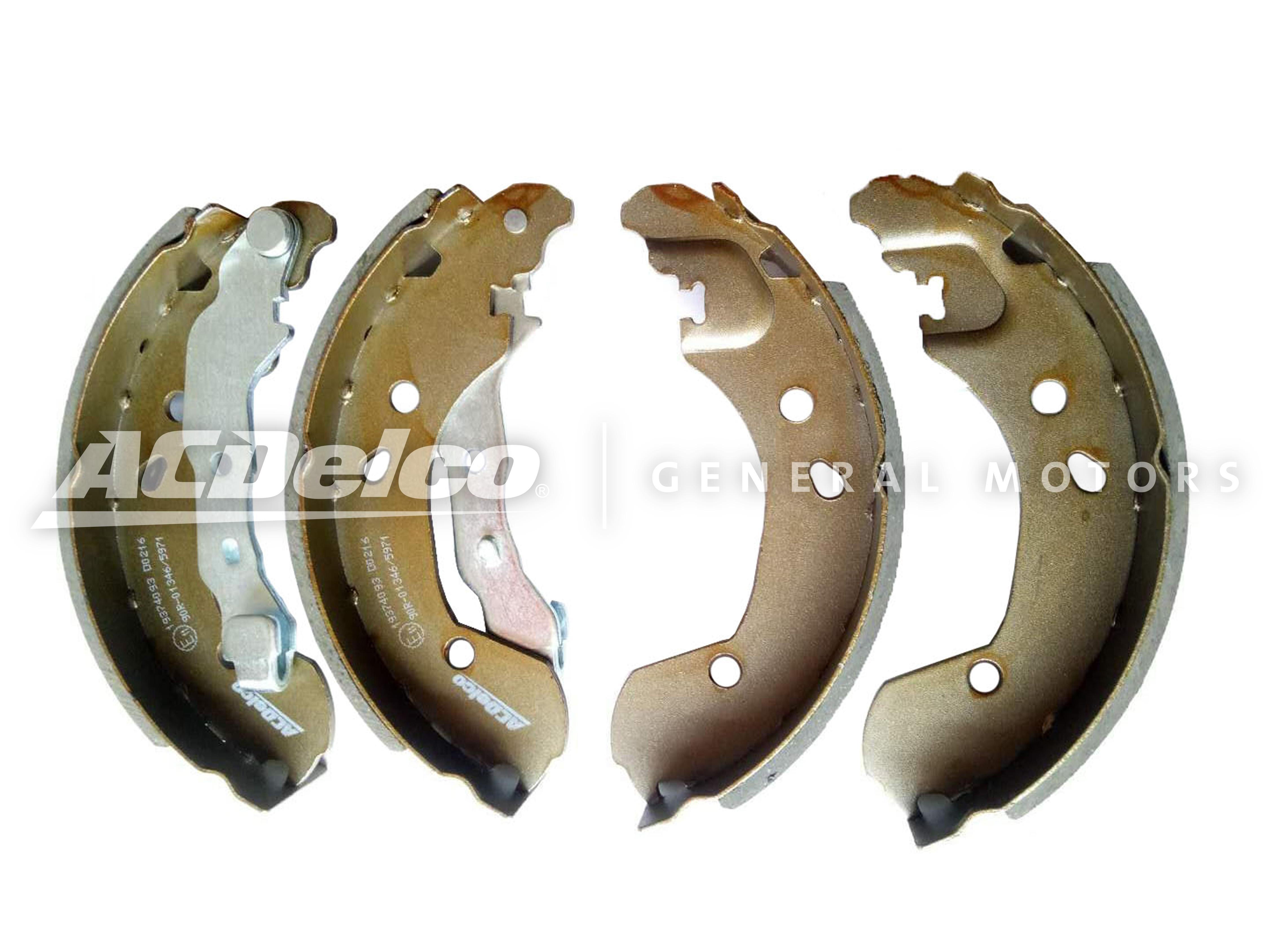 19374093 ACDELCO ACDelco GM Advantage Колодки тормозные задние