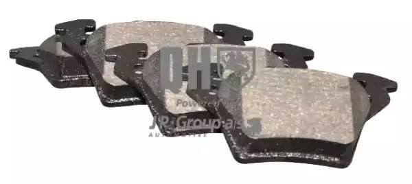 1363700919 JP GROUP Комплект тормозных колодок, дисковый тормоз