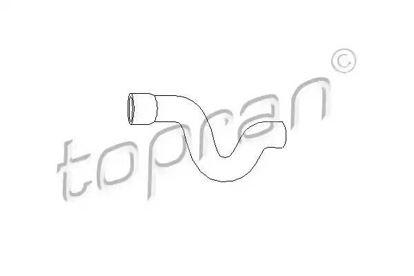 205710 TOPRAN Шланг радиатора