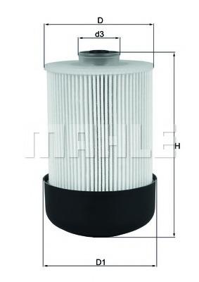 Топливный фильтр MAHLE/KNECHT KX33822D