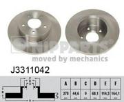 J3311042 NIPPARTS Диск тормозной
