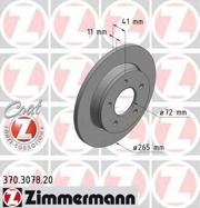 370307820 ZIMMERMANN Тормозной диск