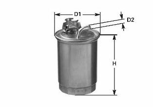 Фильтр топливный CLEAN FILTERS DN1937
