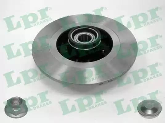 R1031PCA LPR Тормозная система