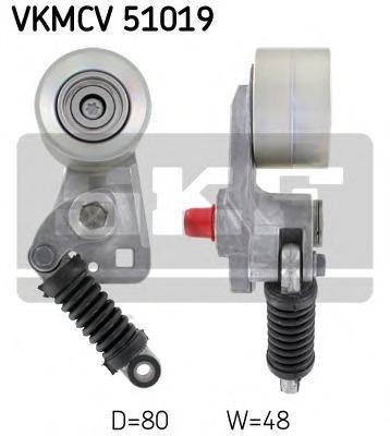 VKMCV51019 SKF Ролик натяжителя
