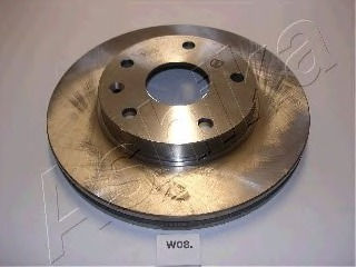 600W008 ASHIKA Тормозной диск