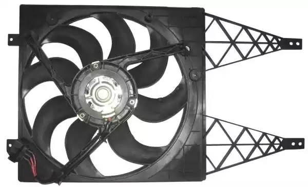 47411 NRF Вентилятор, охлаждение двигателя