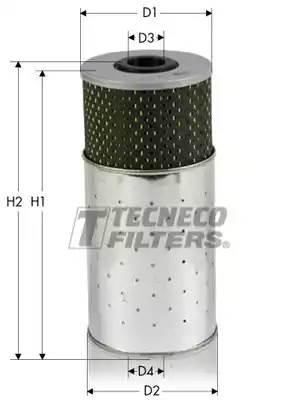 OL033L TECNECO Масляный фильтр